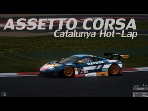 "Assetto Corsa - Catalunya HotLap ""Break the 1:50 mark"" Challenge in the 12C GT3"