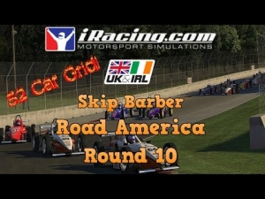 iRacing UK&I SKIP BARBER ROUND 10 FROM ROAD AMERICA - 54 Car Grid!