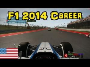 F1 2014 Career - Part 16: USA
