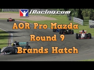 iRacing AOR Pro Mazda Championship Round 9 from Brands Hatch GP