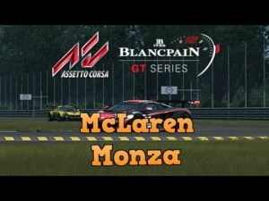 Assetto Corsa Blancpain GT Series Career Mode Mod racing at Monza