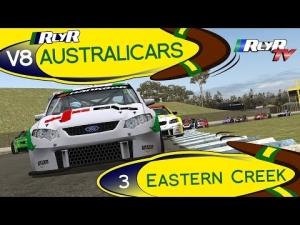 RlyR V8 Australicars - Round 3 - Eastern Creek