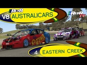 RlyR V8 Australicars - Round 4 - Eastern Creek