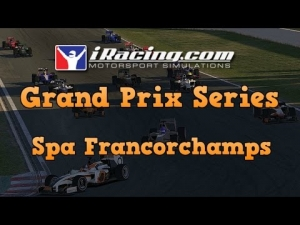 iRacing Grand Prix Series at Spa Francorchamps - Debut to the series