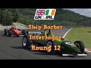 iRacing UK&I SKIP BARBER ROUND 12 FROM INTERLAGOS - Schoolboy error