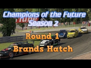 iRacing Champions of the Future Round 1 - Brands Hatch Grand Prix Sprint race