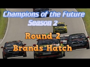 iRacing Champions of the Future Round 2 - Brands Hatch Grand Prix Feature race