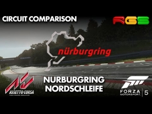 Forza Motorsport 5 vs Assetto Corsa | Nurburgring Nordschleife | Side by Side Comparison