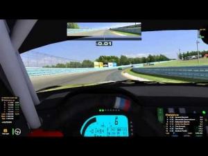 iRacing   BMW Z4 - GT3 At Watkins Glen