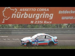 Assetto Corsa - BMW M235i Racing Nordschleife 2 Lap Race