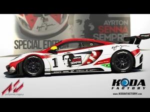 Assetto Corsa: McLaren MP5-12C GT3 Senna Skin by Koda Factory @ Nordschleife (DLC) [60 FPS]