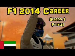 F1 2014 Career - Part 18: SEASON 1 FINALE! Abu Dhabi