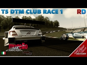 Assetto Corsa | T5 DTM Mod | Mugello - RD Club Race 1