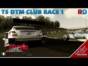 Assetto Corsa | T5 DTM Mod | Mugello - RD Club Race 1