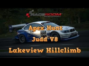 Raceroom Racing Experience R3E Apex Hunt running the Judd V8 at Lakeview Hillclimb