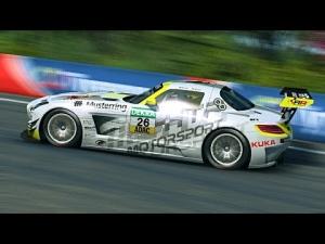 ADAC GT Masters 2014 At Bathurst: Mercedes vs Corvette Race 1