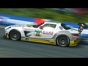 ADAC GT Masters 2014 At Bathurst: Mercedes vs Corvette Race 2