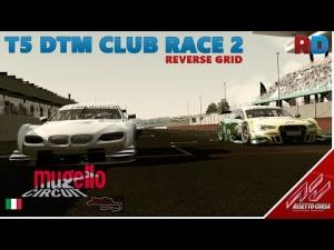 Assetto Corsa | T5 DTM Mod | Mugello - RD Club Race 2 Reverse Grid