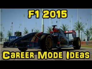 F1 2015 Career Mode Ideas