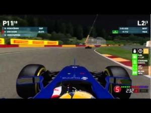 F1 2014 Mod 2015 | Spa-Francorchamps GP ☾ (Noche/Night)
