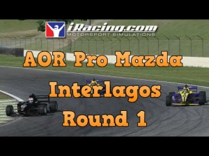 iRacing AOR Pro Mazda Championship round 1 from Interlagos - Good start to the season