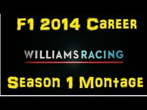 F1 2014 Career - Season 1 Montage
