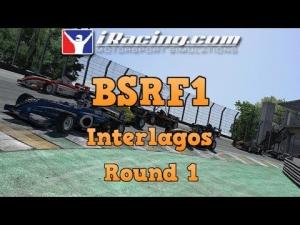 iRacing BSRF1 Season 5 Round 1 at Interlagos - Sprint Race