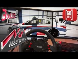 Assetto Corsa | Citroen C-Elysee Sebastien Loeb  | WTCC fun at Macau  | 60 fps tripple