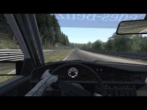 [Assetto Corsa] Mercedes-Benz 190E EVO II @Nordschleife Touristenfahrten | 1080p60fps