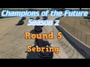 iRacing Champions of the Future Round 5 - Sebring Modified Sprint race