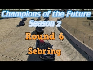 iRacing Champions of the Future Round 6 - Sebring Modified Feature Race