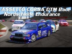 Assetto Corsa - DTM Race at Nordschleife Endurance layout