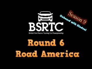 iRacing BSRTC Season 9 Round 6 from Road America - 50 car grid!