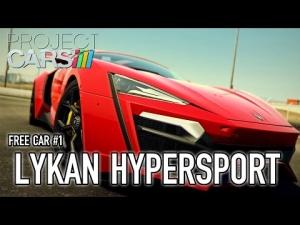 Project CARS - PS4/XB1/WiiU/PC - Lykan Hypersport (Free Car #1 trailer)