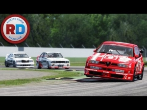 Assetto Corsa Mulitplayer action at Racedepartment! with 90s dtm cars!