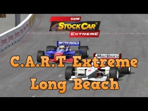 Stock Car Extreme Cart Extreme mod at Long Beach
