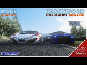 Assetto Corsa | GT3 Race | Blackwood UHD