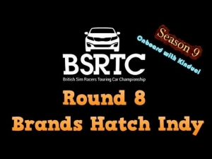 iRacing BSRTC Season 9 Round 8 from Brands Hatch Indy