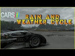 Project CARS - Build 952 - Rain and Weather Cycle
