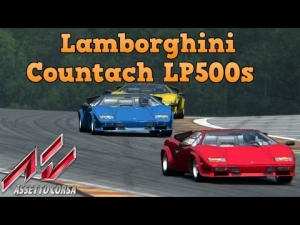 Assetto Corsa Lamborghini Countach LP500s at Spa