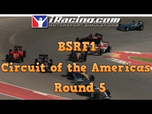 iRacing BSRF1 Season 5 Round 5 at Circuit of the Americas west - Sprint Race