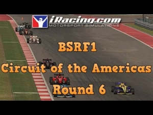 iRacing BSRF1 Season 5 Round 6 at Circuit of the Americas west - Feature Race