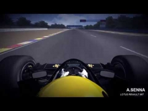 Assetto Corsa Lotus Renault 98T @ Paul Ricard 1988
