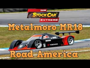 Game Stock Car Extreme at Road America driving the Metalmoro MR18