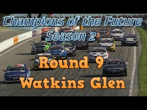 iRacing Champions of the Future Round 9 - Watkins Glen Sprint race