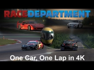 One Car, One Lap in 4K - Teaser [UHD/4K]