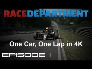 One Car, One Lap in 4K - Episode 1 [UHD/4K]