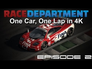 One Car, One Lap in 4K - Episode 2 [UHD/4K]