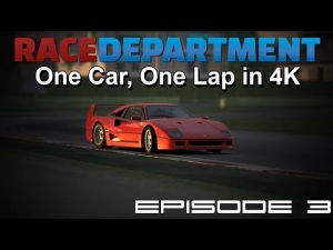 One Car, One Lap in 4K - Episode 3 [UHD/4K]