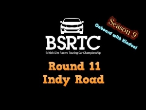 iRacing BSRTC Season 9 Round 11 from Indianapolis Road course